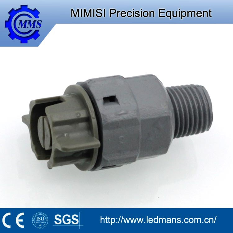 MMS PVDF equipment parts,1/8 1/4 3/8 flat Easy connect water cleaning flat spray plastic nozzle,