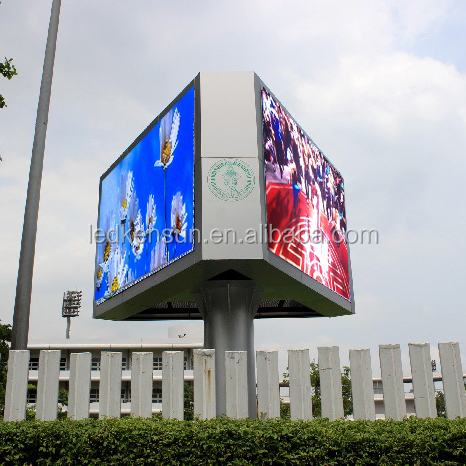 P5 outdoor video one /two /three sides full color outdoor led display