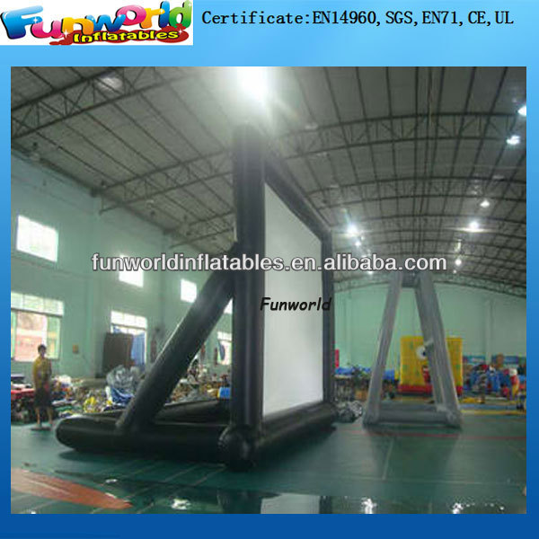 Advertising Inflatable Projector/ Outdoor Inflatable Movie Screen/ Outdoor Inflatable Film Screen for Sale