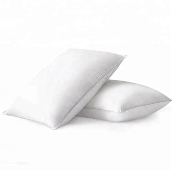 Luxury white goose  duck feather 50x70cm for  sleeping and hotel