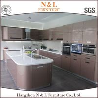 On shopping building material 2015 china manufacture hot sale rta kitchen cabinet