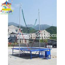 exciting single Bungee trampoline equipment for children