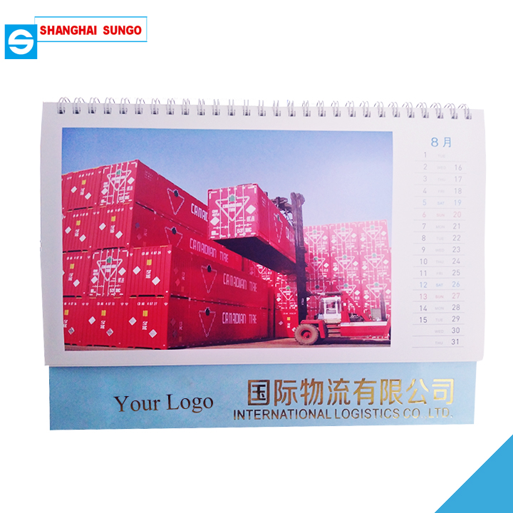 Different Type of Desk Calendar Table Calendar CMYK Printing Factory