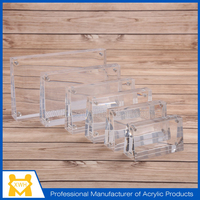 Manufacturer supply double sided acrylic display case