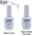 Newest Nail Gel ibdgel No Wipe UV Matte Top Coat