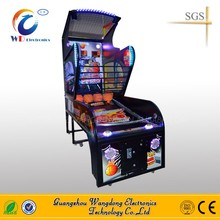 coin operated shooting hoop basketball/street basketball game machine