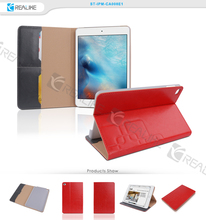 Nice stitching leather tablet case for ipad mini , eva foam tablet case