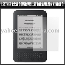 "6"" LCD Screen Protector Guard Cover for Amazon Kindle 3,YAM200A"