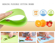 Flexible Cutting Board Mat Set, Extra Thick Plastic with Non-Slip Textured Grip for Chopping,3 Convenient Sizes