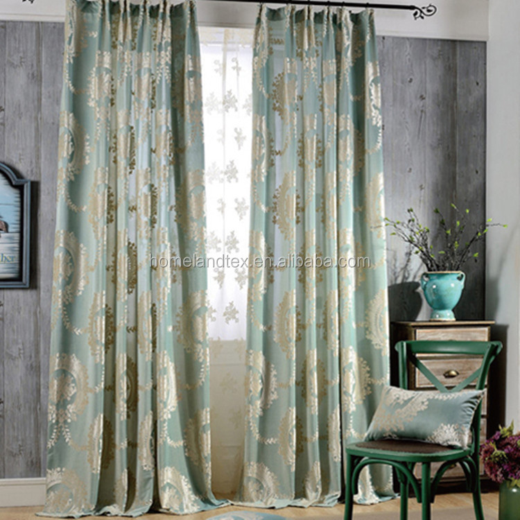 Turkish style window curtains ready made curtains for living room
