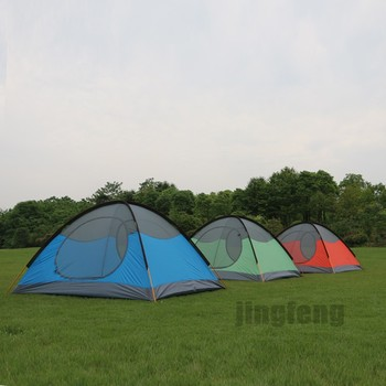 three person mountain outdoor works tent