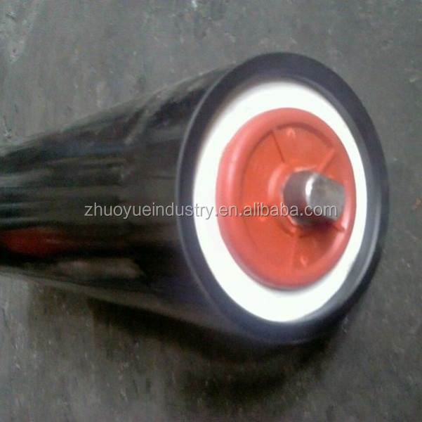 PVC belt tension belt conveyor carrier idler roller