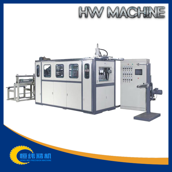 High output cup/container/tray/box/lid/cover/plate thermoforming machine factory