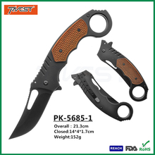 Anti Slip Handle Stainless Steel Folding Jungle Survival Knife Wholesale