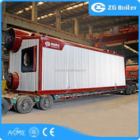Small scale 1 ton natural oil or gas fired boiler