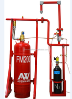 Asenware N2 driving pipe fm200 fire extinguisher shenzhen