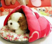 Wholesale high quality cute soft indoor fabric house for dog sale