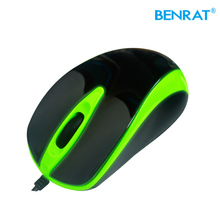 Perfect shape 3d custom logo usb wired computer mouse for desktop laptop