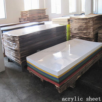 Wholesale clear and colorful plastic cast acrylic sheet price
