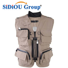 Wholesale Waterproof Fly Fishing Mesh Vest Down Hunting Vest