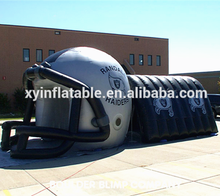 2016 new inflatable entrance tunnel,play a football game for sport game