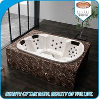 Outdoor luxury elegant design custom size whirlpool spa hot tub