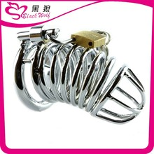 Metal Chastity Device Cock Cage , Penis Cage , penis ring