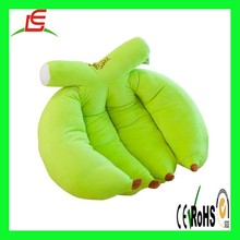 C018 3D Fruit Sofa Cushion Plush Toys 17.72inch home pillow green banana