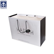 China factory custom high end Wholesale Excellent Quality Gift Packing Paper Bag with handle