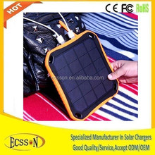 New arriving 5600mAh wholesale solar cellphone charger , portable solar panel charger , solar usb charger for mobile phone