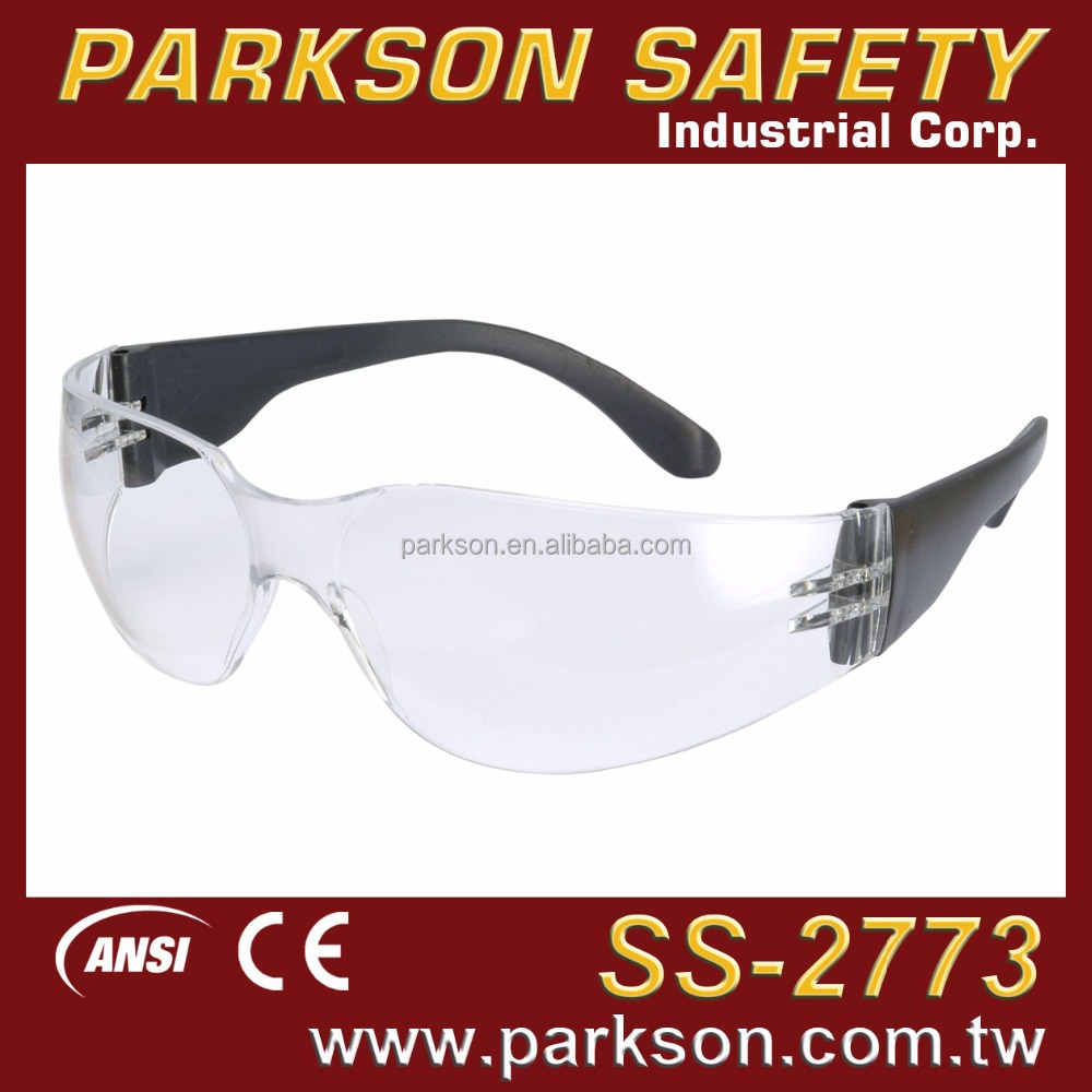 Taiwan Famous Lightweight Anti Impact Anti Scratch Cheap SS-2773 CE EN166 ANSI Z87.1 Standard Safety Glasses