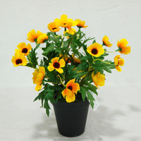 Mini Fake African Daisy Flowers wholesale Artificial Flowers Home Decoration