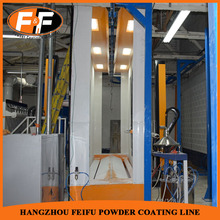 Mono Cyclone Powder Painting Room For Automatic Powder Coating Line