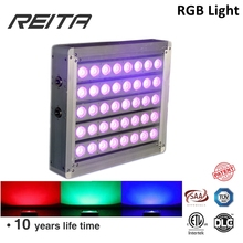 Factory manufacture outdoor purple color led flood light flood light 200w made in china