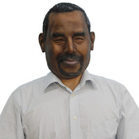 Ben Carson hot candidate realistic human latex mask