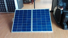 Factory direct 140W folding solar panel kits for DC 12V solar system