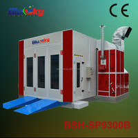 Bluesky CE approved automotive paint booths for sale/spray dryer price/ car accident repair equipment