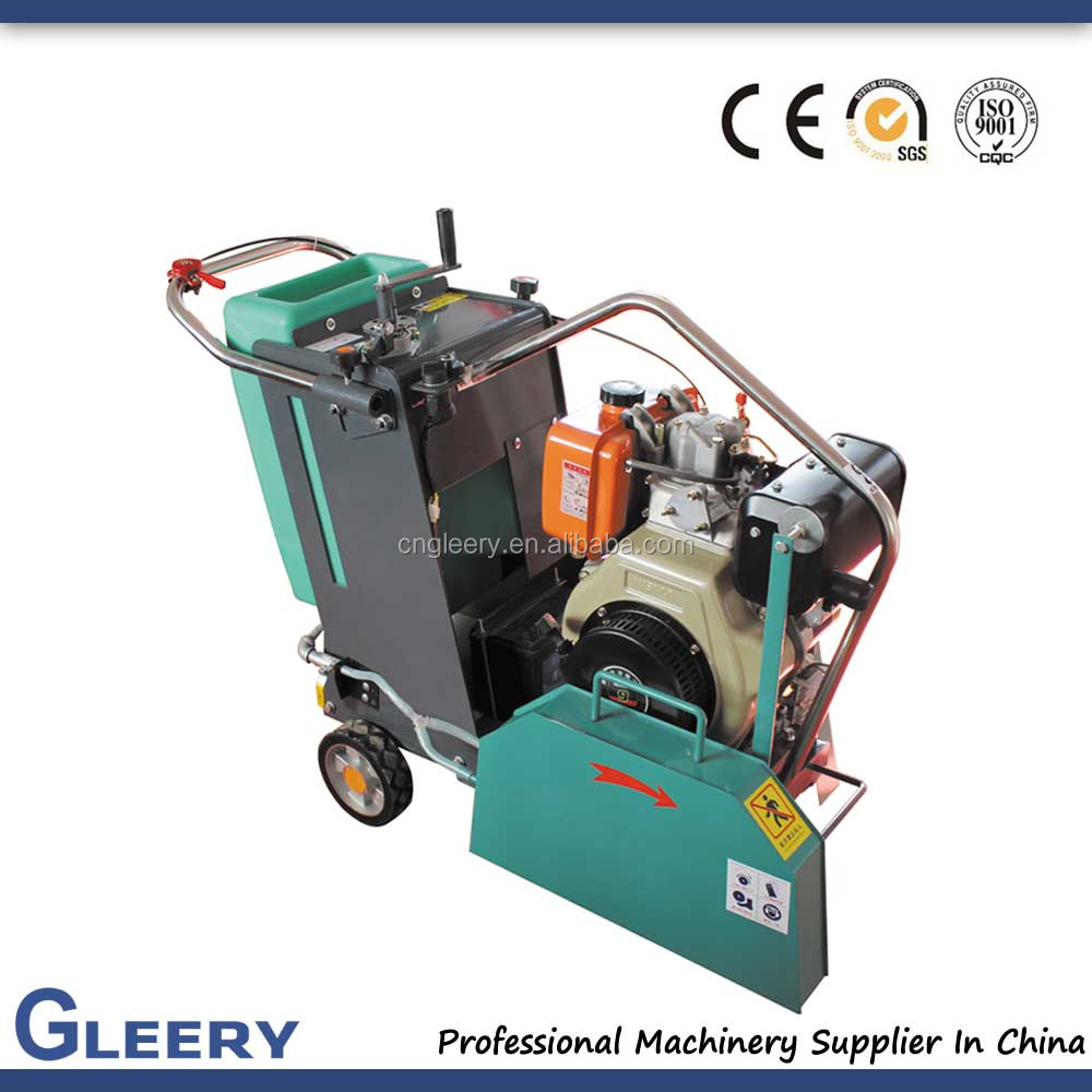 GLQ-18 Gasoline/air-cooled diesel engine asphalt concrete cutter(Max Cutting Depth 180mm)