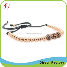 Fashion Jewelry Gold Plated Copper Bracelet, Cheap Wristbands As Friendship Band