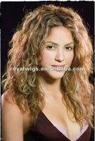 lovely girl blonde humna hair full lace wig