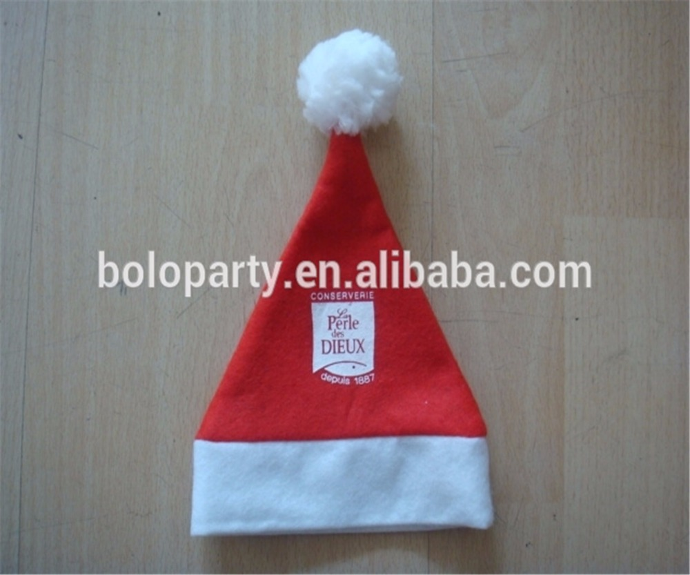 High quality red christmas hat,santa hat,santa clause hat New Christmas Hats