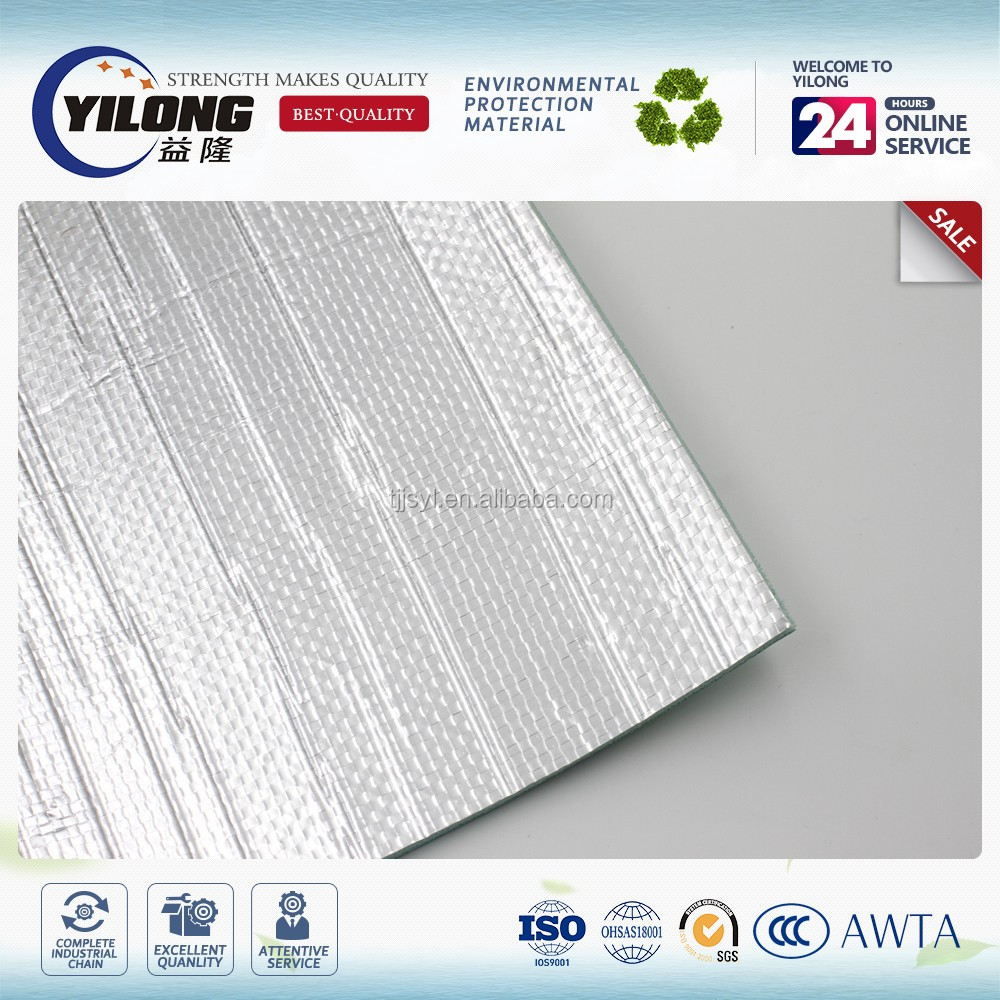 Thermo insulated aluminum foil foam insulation