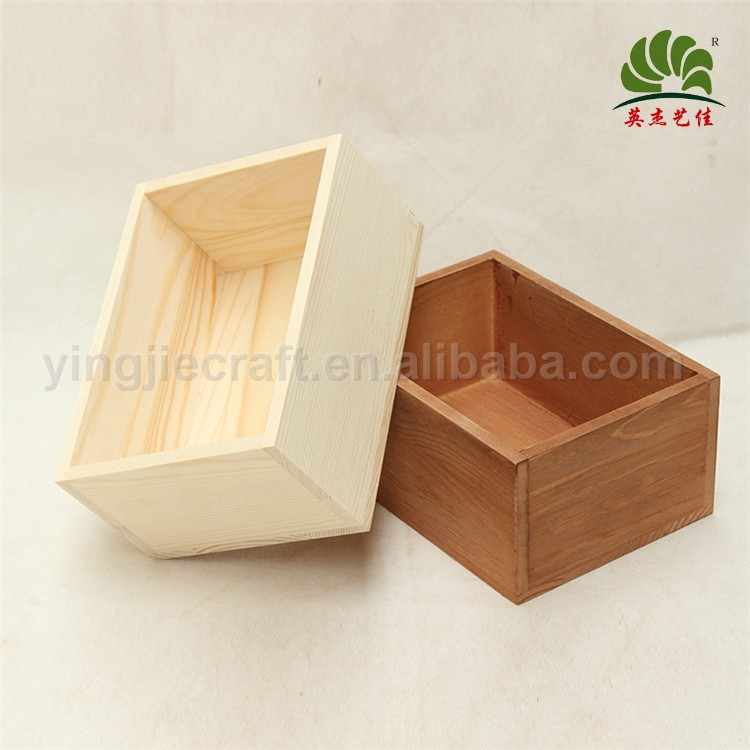 Classical Designs Customized wooden apple crate, toy box,Christmas present hampers