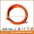 CE BS EN ISO 3821 Standard 25 Foot Orange PVC LPG Gas Connection Hose With Male & Female Fittings, PVC Flexible Gas LPG Hose