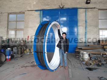 Rubber Expansion Joint with PTFE Liner