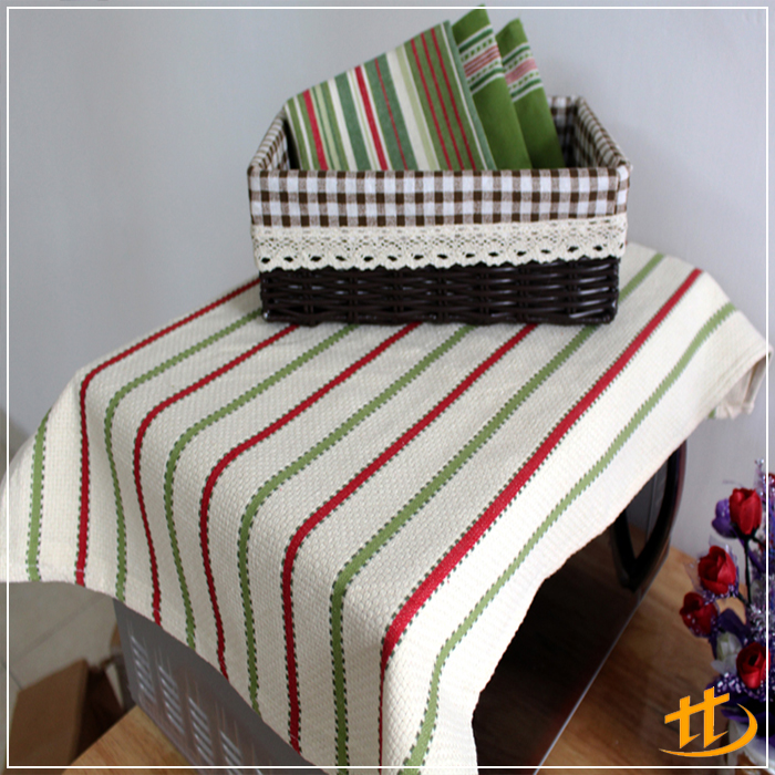 High Quality Colorful Cotton Stripe Design Pattern Kitchen Dish Towel with Factory Price