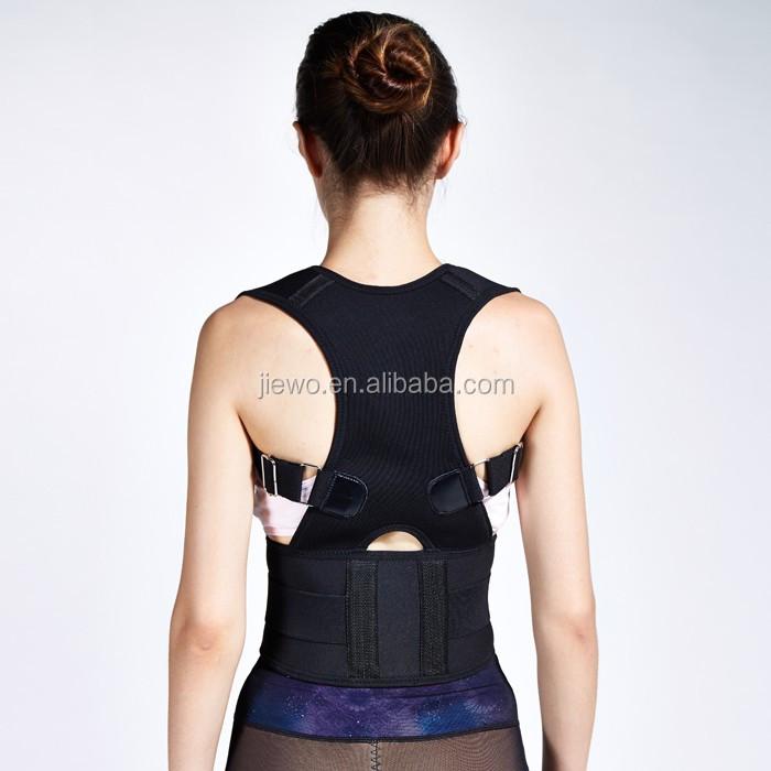 Ceinture de taille de soutien de dos de soutien de dos de néoprène de sports pour le mal de dos