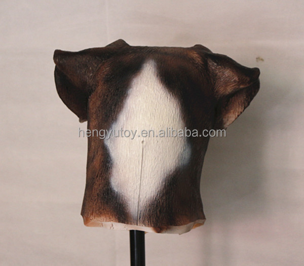 Factory Direct Sale Best Selling Realistic Adult Size Latex Animal Mask Popular Labrodor Dog Head Mask
