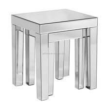 news high quality elegant modern home mirrored end table