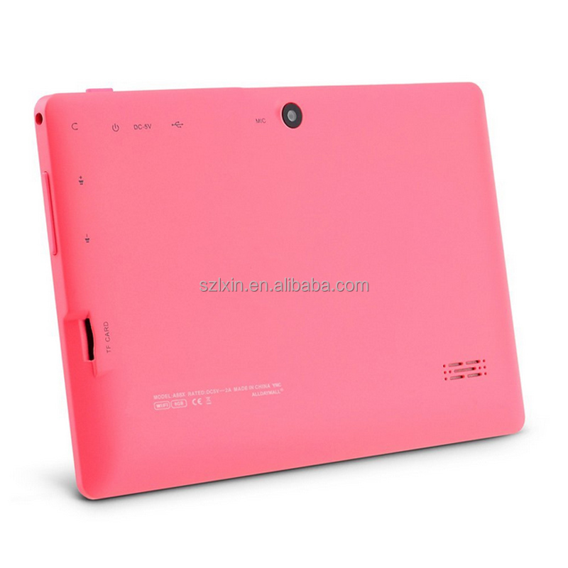 7 inch allwinner a33 tablet pc Quad Core 512MB/4GB Tablet Android 4.4.2 Tablet PC Dual camera WIFI